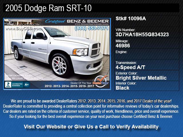 10096A for sale Scottsdale AZ