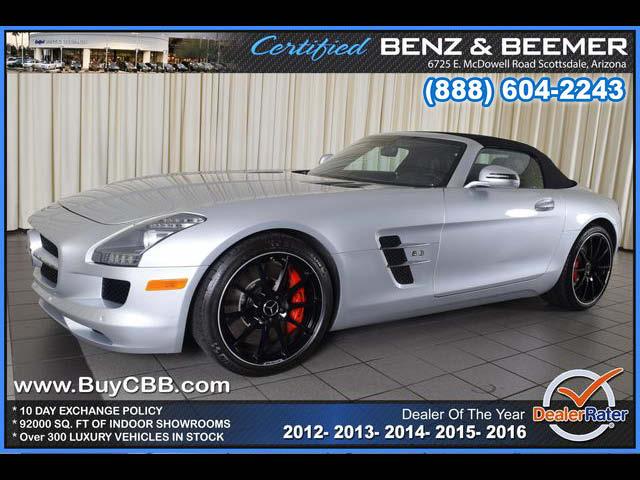 2012 Mercedes-Benz SLS AMG  for sale in Scottsdale AZ