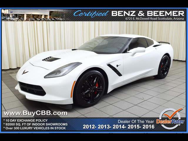Phoenix Indoor Auto Sales >> 2016 Chevrolet Corvette 1lt For Sale In Scottsdale Az 2017