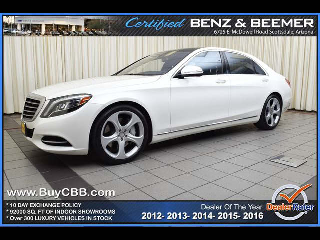2015 Mercedes-Benz S550  for sale in Scottsdale AZ