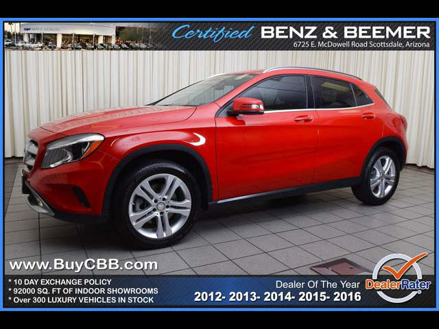2015 Mercedes-Benz GLA250  for sale in Scottsdale AZ