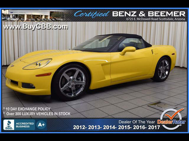 2007 Chevrolet Corvette Convertible for sale in Scottsdale AZ