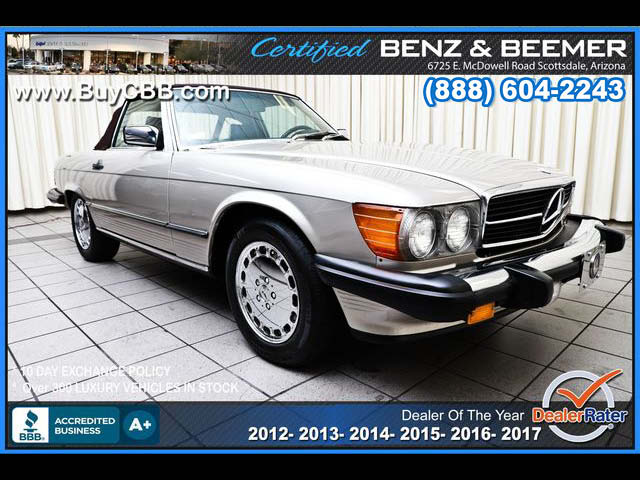 1986_Mercedes-Benz_560 Series