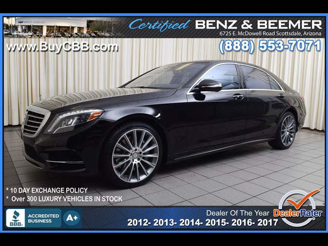 2015 Mercedes-Benz S-Class S550 for sale in Scottsdale AZ