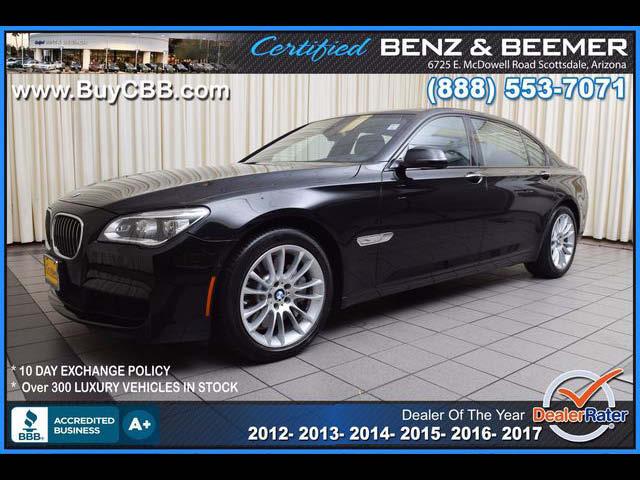 2015 BMW 750Li 7 Series for sale in Scottsdale AZ
