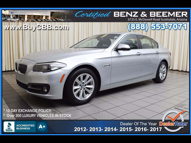2015 BMW 5 Series 528i for sale in Scottsdale AZ