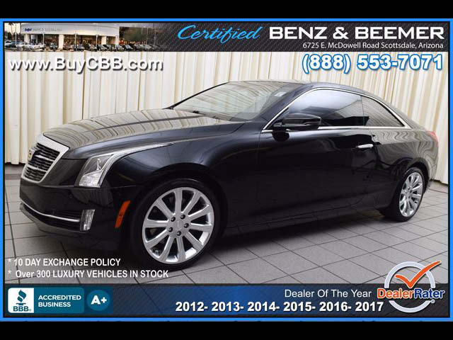 2015 Cadillac ATS Coupe Performance for sale in Scottsdale AZ