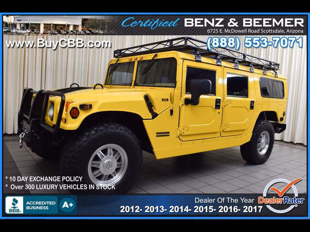 2000 HUMMER H1  for sale in Scottsdale AZ