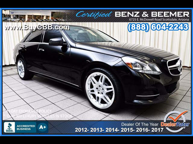 2014_Mercedes-Benz_E350 Luxury
