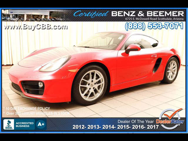 2016 Porsche Cayman  for sale in Scottsdale AZ