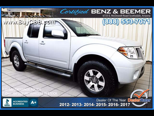 2013 Nissan Frontier PRO-4X Crew Cab 4WD for sale in Scottsdale AZ