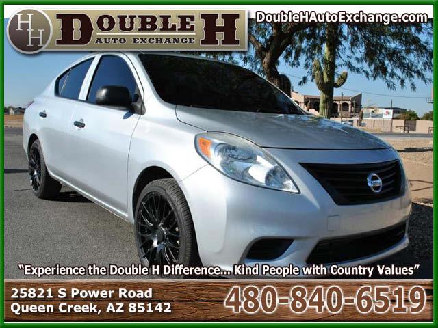 2012 Nissan Versa 1.6 S 4dr Sedan 5M for sale in Queen Creek AZ