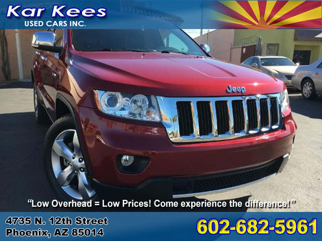 2013 Jeep Grand Cherokee Limited 4x4 for sale in Phoenix AZ